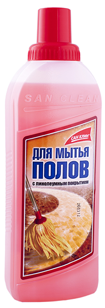 Средство для мытья линолиума 1000мл. СанКлин - фото 1