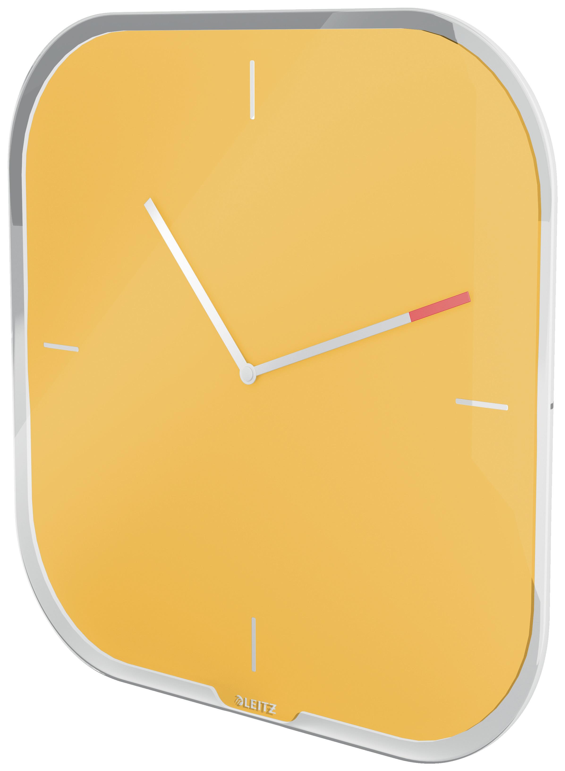 Часы настенные Cosy, квадратные, стекло, желт. LEITZ - фото 7