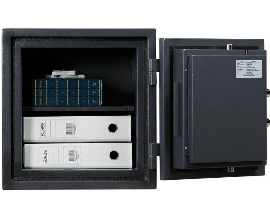 Сейф огневзломостойкий (460*440*440мм.) электронный кодовый замок, 1 полка, 1 класс, ASG 46 EL, граф Valberg - фото 3