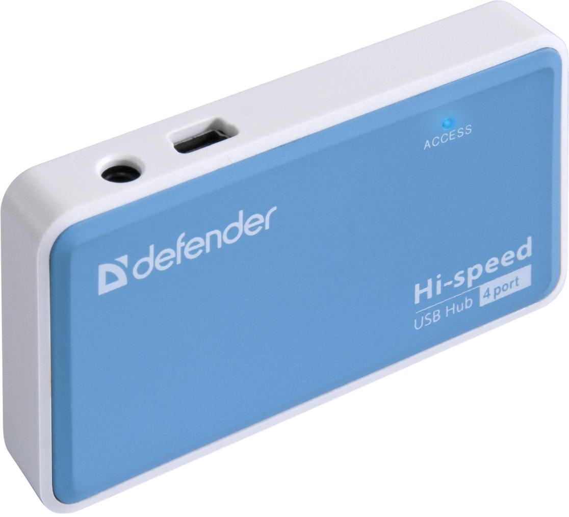 Адаптер+Минихаб 4 портовый USB 2.0, 220V, Quadro Power Defender - фото 3
