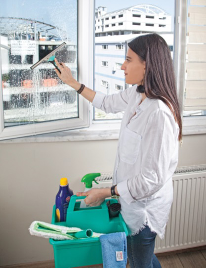 Скребок, собиратель воды для мытья стёкол СР 45см., металл/резина Uctem - фото 3
