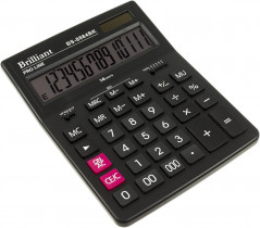 Калькулятор бухгалтерский BS-8884BK, 14 разрядов, 150х200х30мм, черн.