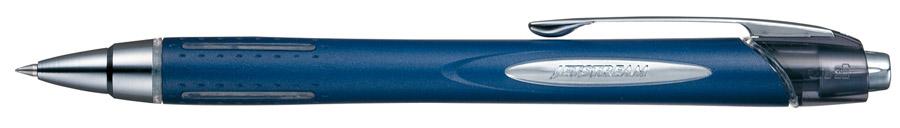 Роллер автомат. Jetstream, 0,7мм., корпус син., стержень син. Uni - фото 2