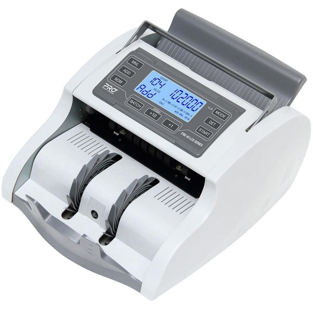 Счетчик банкнот PRO-40 ULCD, бел. PRO - фото 1