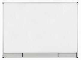 Доска белая магнитная сухостираемая StarBoard 100*150см., алюминиевая рамка, керамика