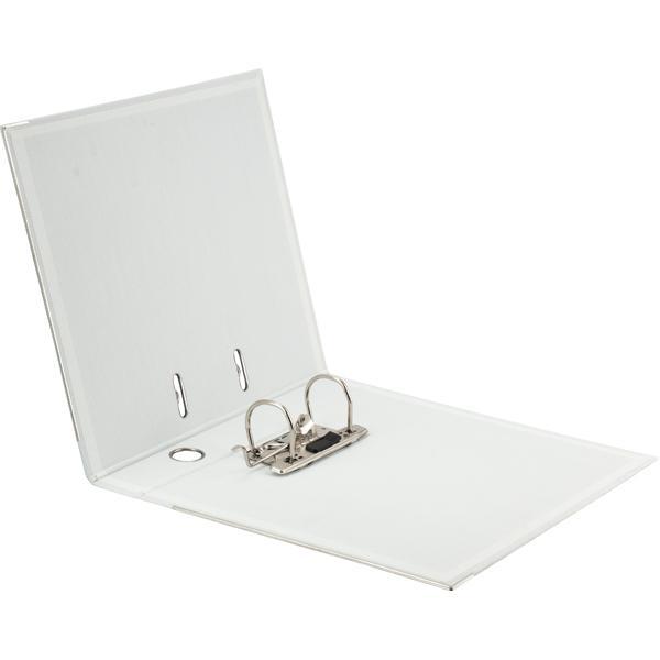 Регистратор 5см. А4 (двухстороннее покрытие PVC) Prestige, бел. Axent - фото 2