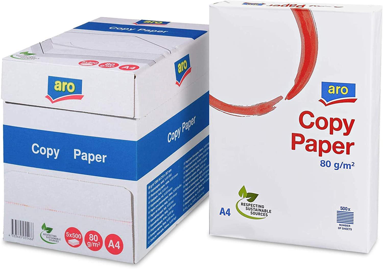 Бумага А4 80гр./м2. 500 листов Aro Copy Paper UPM - фото 2