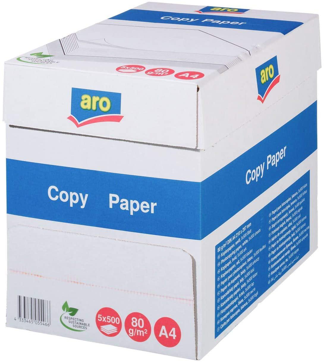 Бумага А4 80гр./м2. 500 листов Aro Copy Paper UPM - фото 4