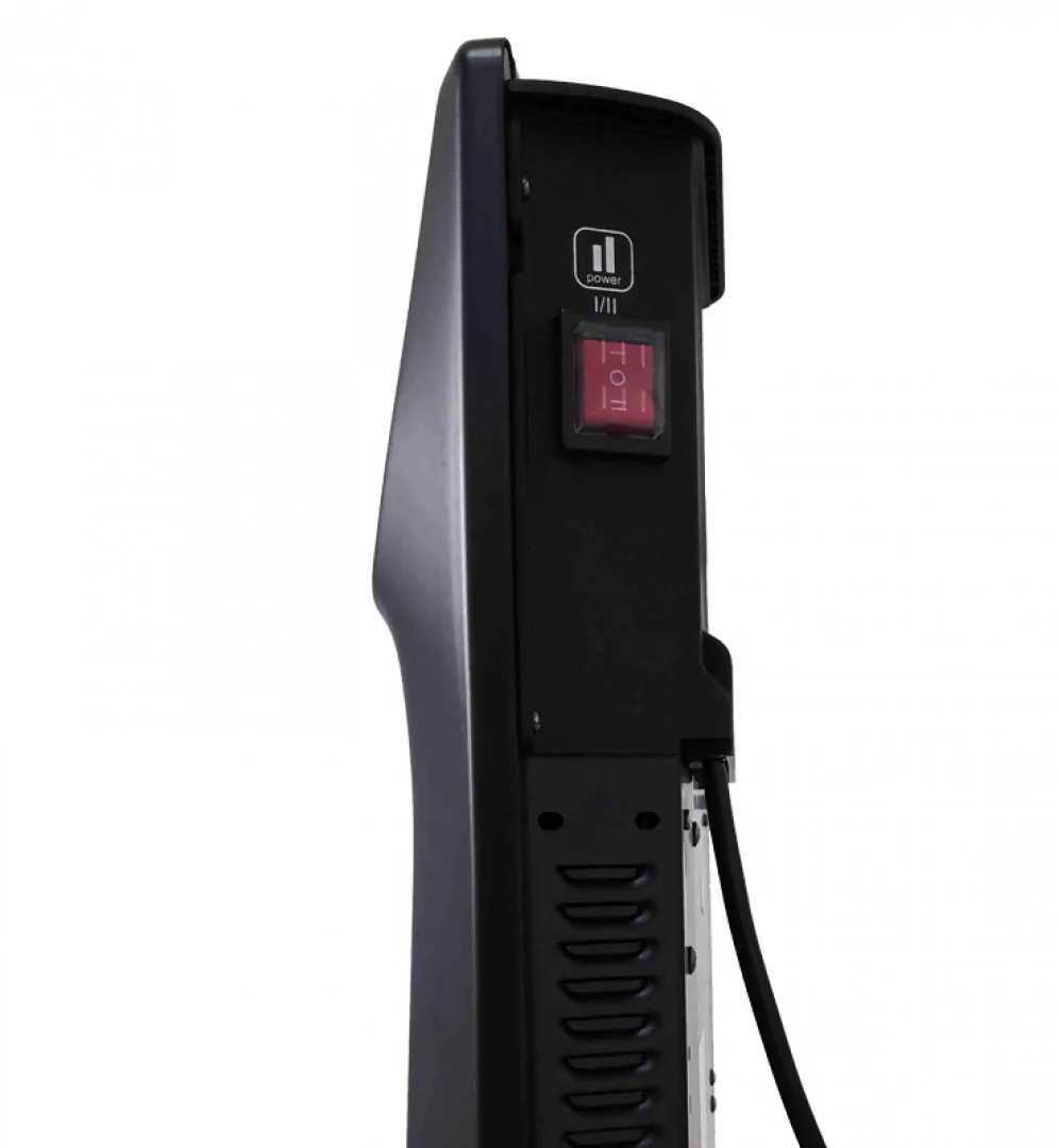 Обогреватель конвекторный C&H DOMESTIC BLACK  СH-2000 MD, 1/2кВт.,  Механ. управление, черн. Cooper&Hunter - фото 3