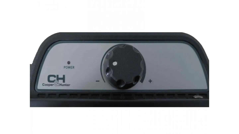 Обогреватель конвекторный C&H DOMESTIC BLACK  СH-2000 MD, 1/2кВт.,  Механ. управление, черн. Cooper&Hunter - фото 4