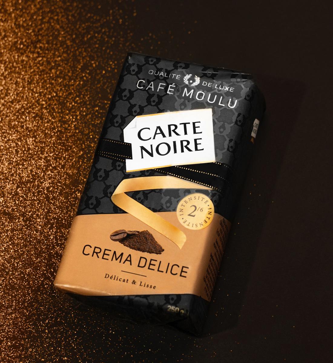 Кофе молотый Carte Noire 250гр. Crema Delice Carte Noire - фото 4
