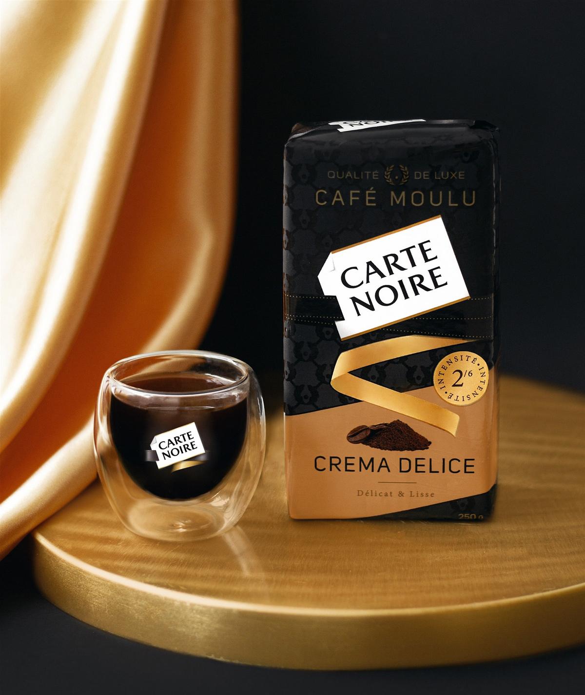 Кофе молотый Carte Noire 250гр. Crema Delice Carte Noire - фото 5