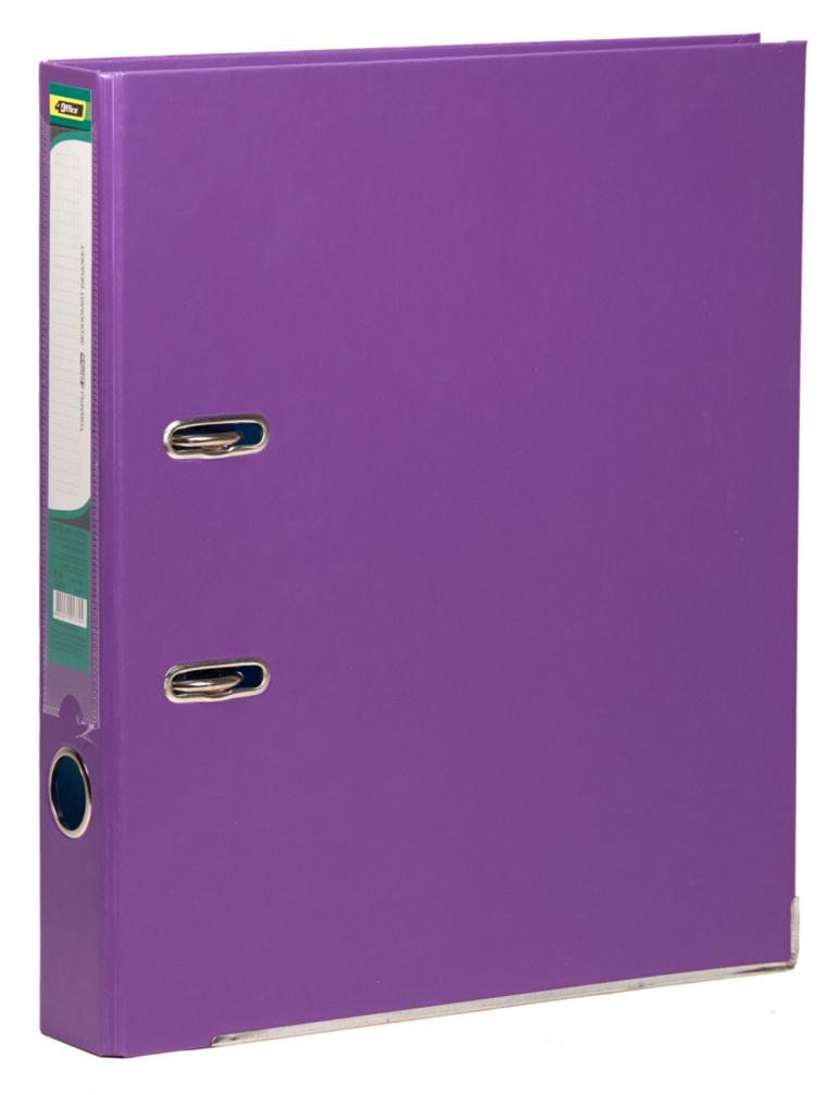 Реєстратор 5см. А4 (PP), фіолет. 4Office - фото 1