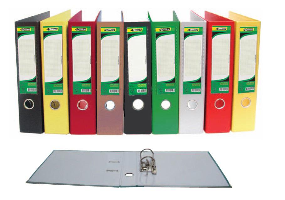 Реєстратор 5см. А4 (PP), фіолет. 4Office - фото 2