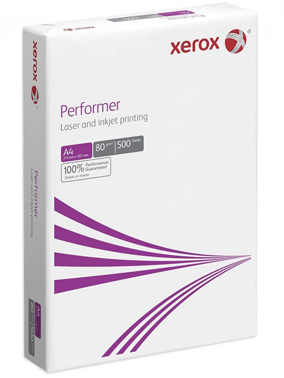 Бумага А4 80гр./м2. 500 листов Performer XEROX - фото 2
