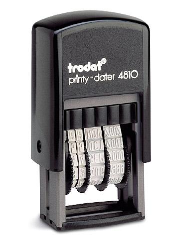 Минидатер 3,8мм., пластик. 4810 Trodat - фото 1