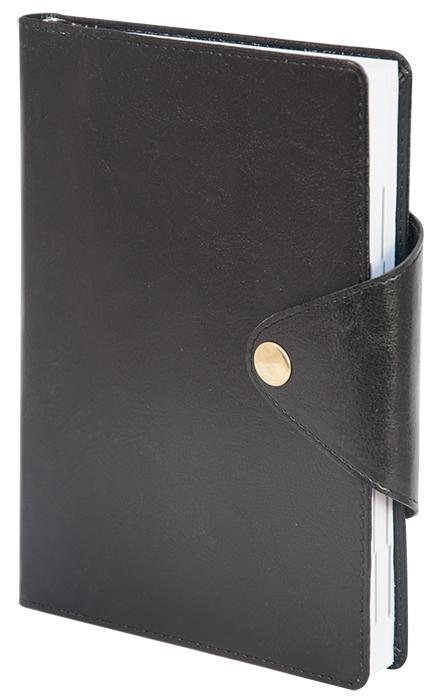 Ежедневник не датированный BUSINESS, 150*210мм., 144л., бум., линейка, черн. BuroMax - фото 1