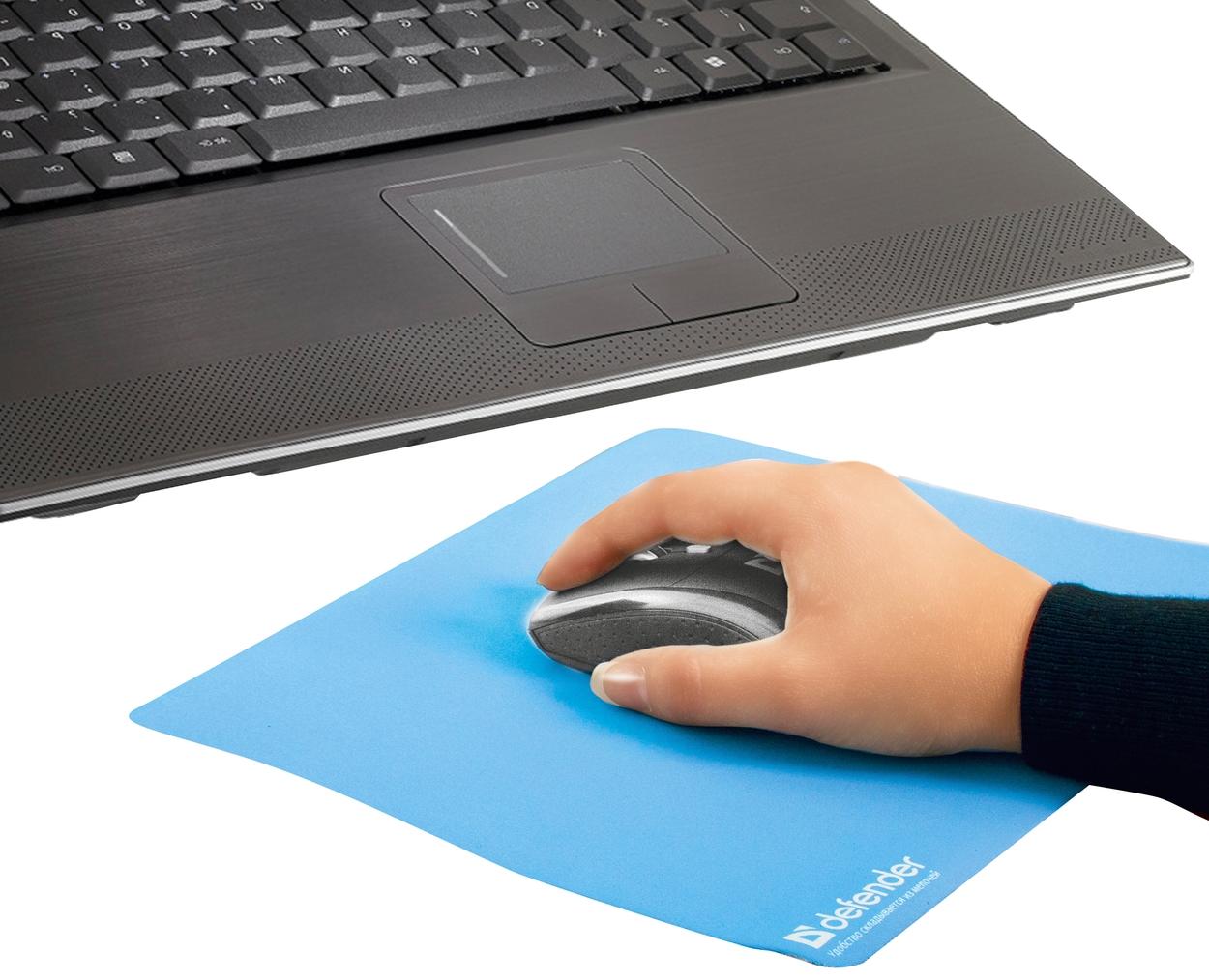 Коврик для компьютерной мыши Notebook Microfiber, 300х225х1.2мм., асорти, ассорт. Defender - фото 5