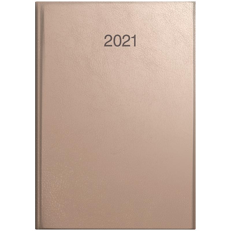 Ежедневник датированный Стандарт 2021 Intention, роз.-зол. Brunnen - фото 1