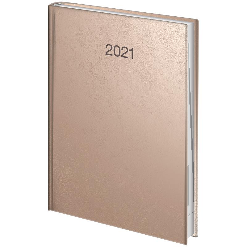Ежедневник датированный Стандарт 2021 Intention, роз.-зол. Brunnen - фото 2