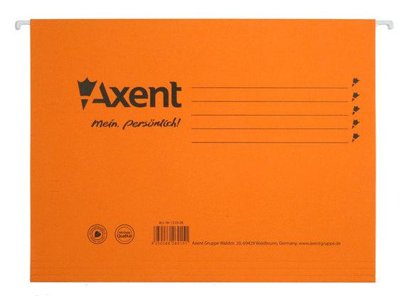 Файл подвесной, 6шт./уп., картон., оранж. Axent - фото 1