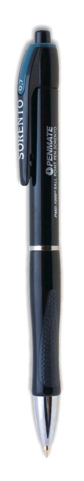 Ручка шариковая автоматическая SORENTO, стержень син., цвет корпуса ассорт. Penmate - фото 4