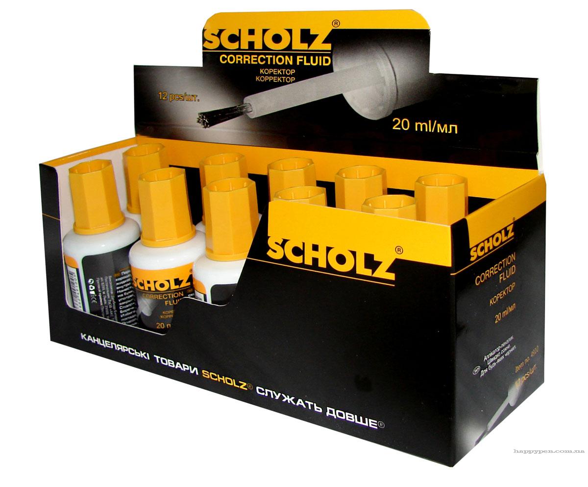 Корректор 20мл. с кисточкой на масляной основе Scholz - фото 2