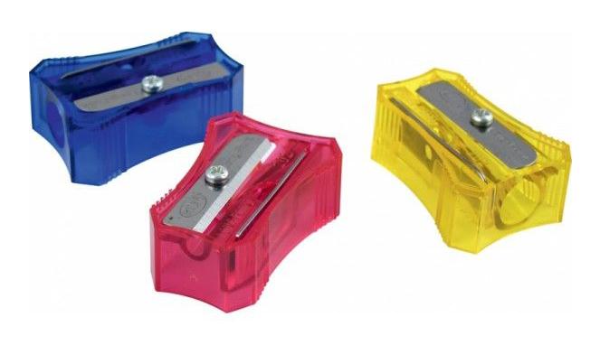 Точилка пластиковая Стенограф Ice, ассорт. KUM - фото 1