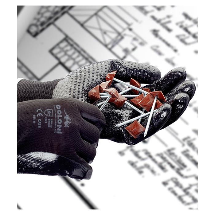 Перчатки трикотажные с нитриловым покрытием D-OIL Doloni - фото 3