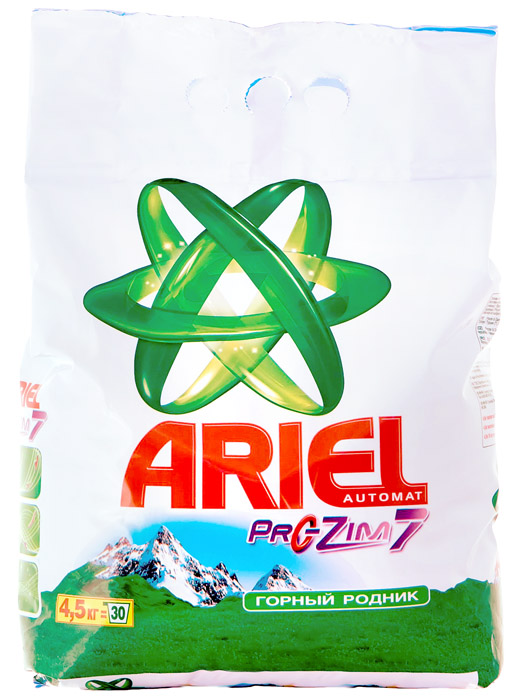 Стиральный порошок для автоматической стирки 4,5кг., Eco Pack ассорти ARIEL - фото 1