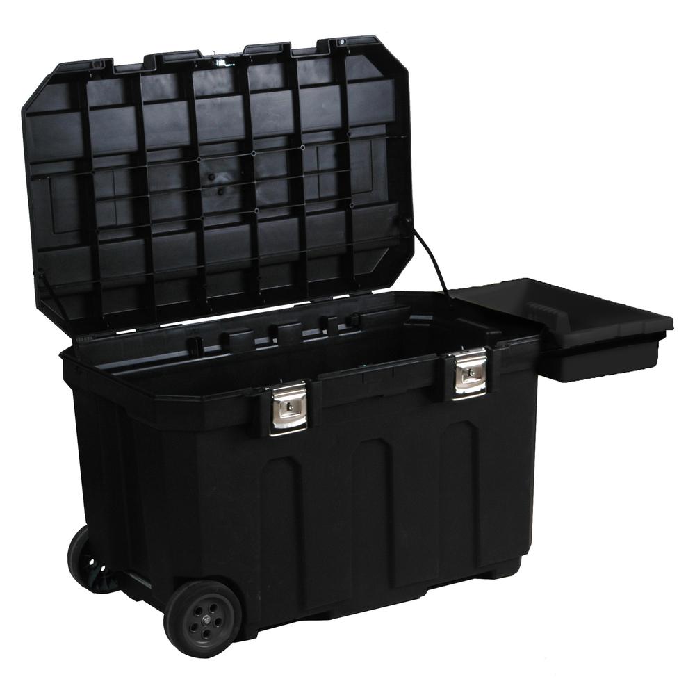 Ящик для инструмента MOBILE JOB CHEST пластиковый с колесами STANLEY - фото 2