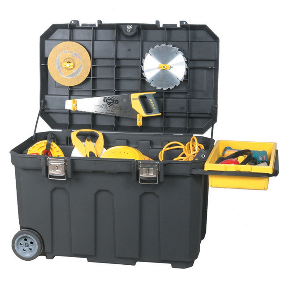 Ящик для инструмента MOBILE JOB CHEST пластиковый с колесами STANLEY - фото 3