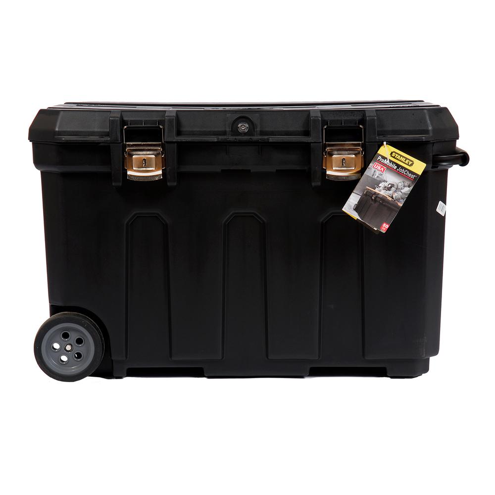 Ящик для инструмента MOBILE JOB CHEST пластиковый с колесами STANLEY - фото 4