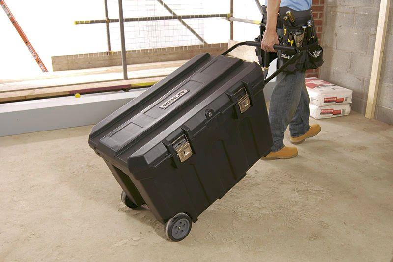 Ящик для инструмента MOBILE JOB CHEST пластиковый с колесами STANLEY - фото 5