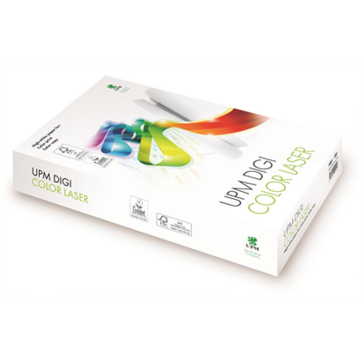 Бумага Digi Color Laser A3 300гр./м2., 125листов UPM - фото 1