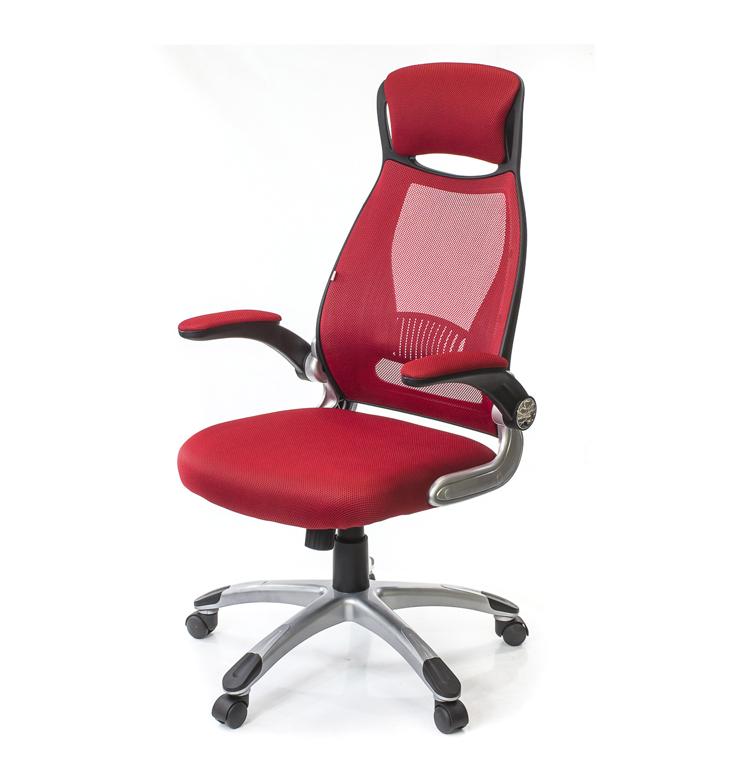 Кресло для персонала Винд PL TILT, красн. АКЛАС - фото 1