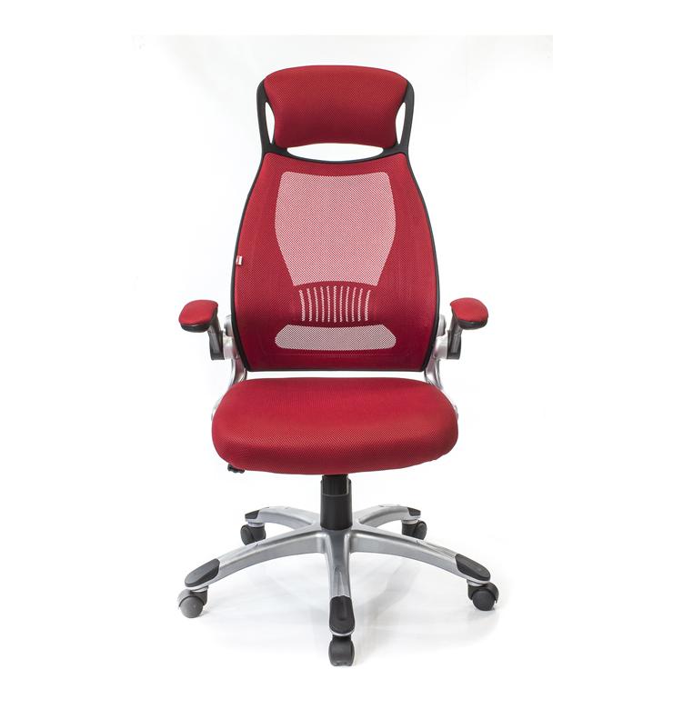 Кресло для персонала Винд PL TILT, красн. АКЛАС - фото 2