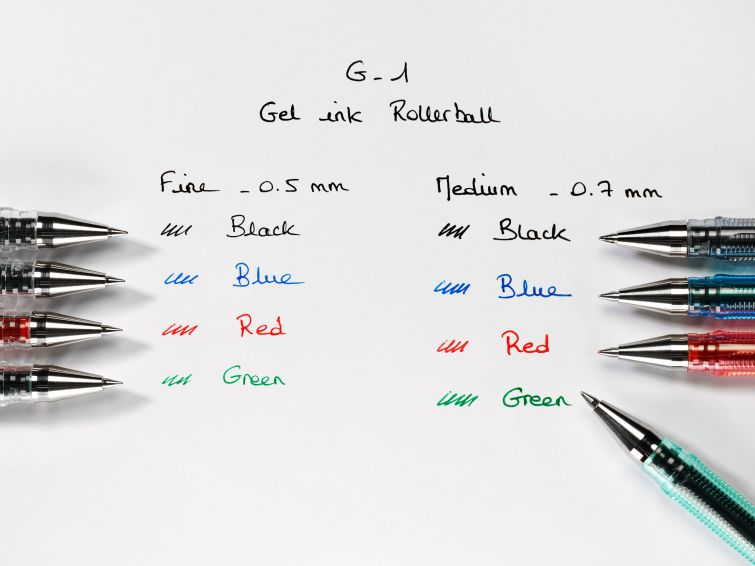 Гелевая ручка G1 0,5мм., корпус прозр., ст. син. Pilot - фото 4