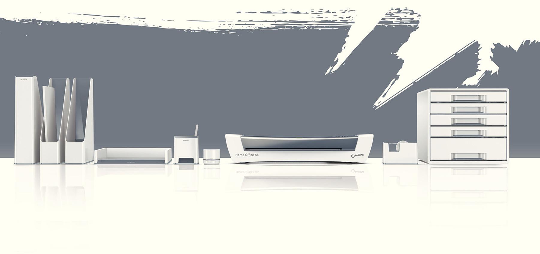 Лоток горизонтальный Wow Duo Colour, белый LEITZ - фото 6