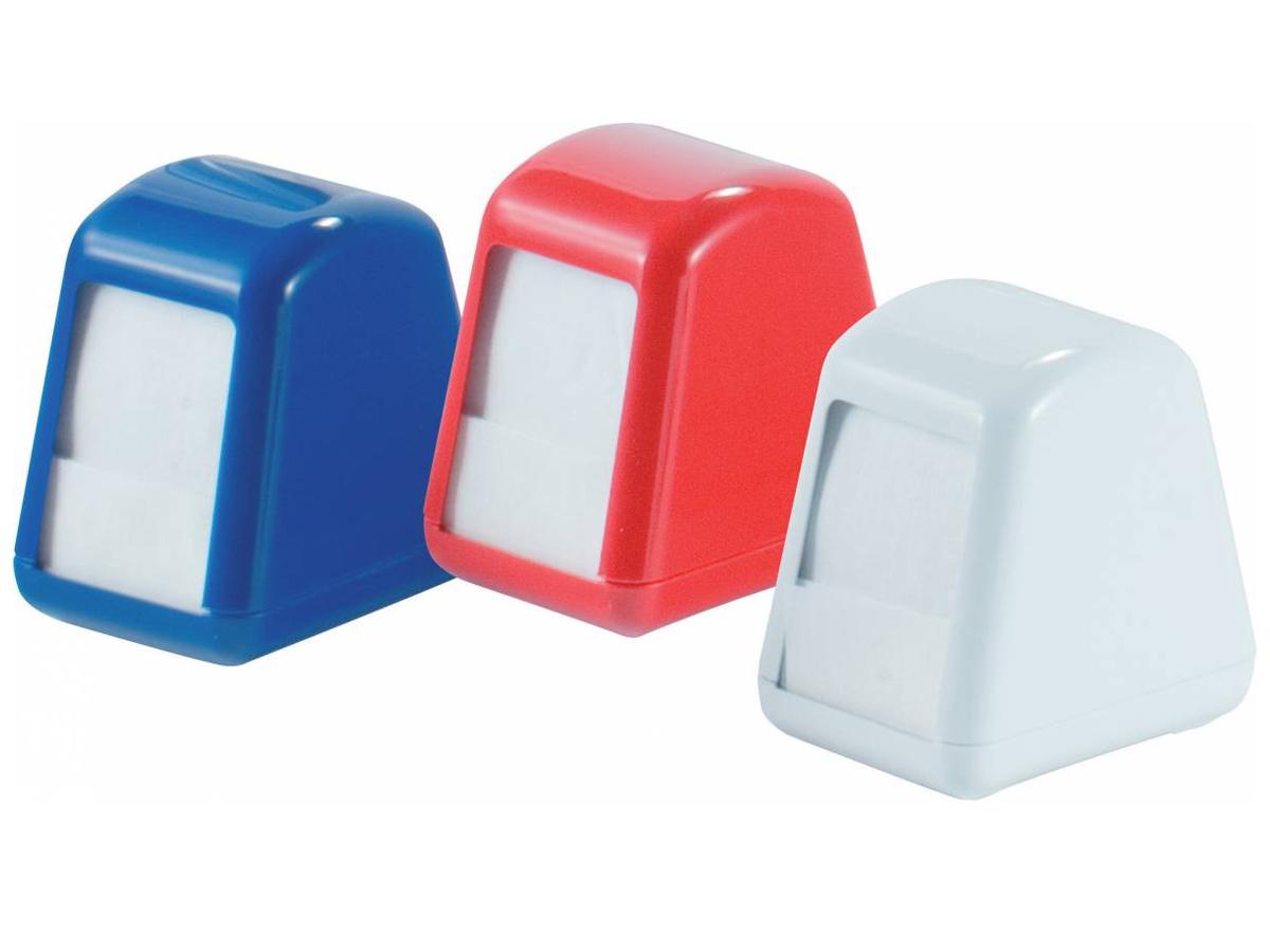 Диспенсер для салфеток столових ACQUALBA 14,5х10,5х14см, красн. Mar Plast - фото 1