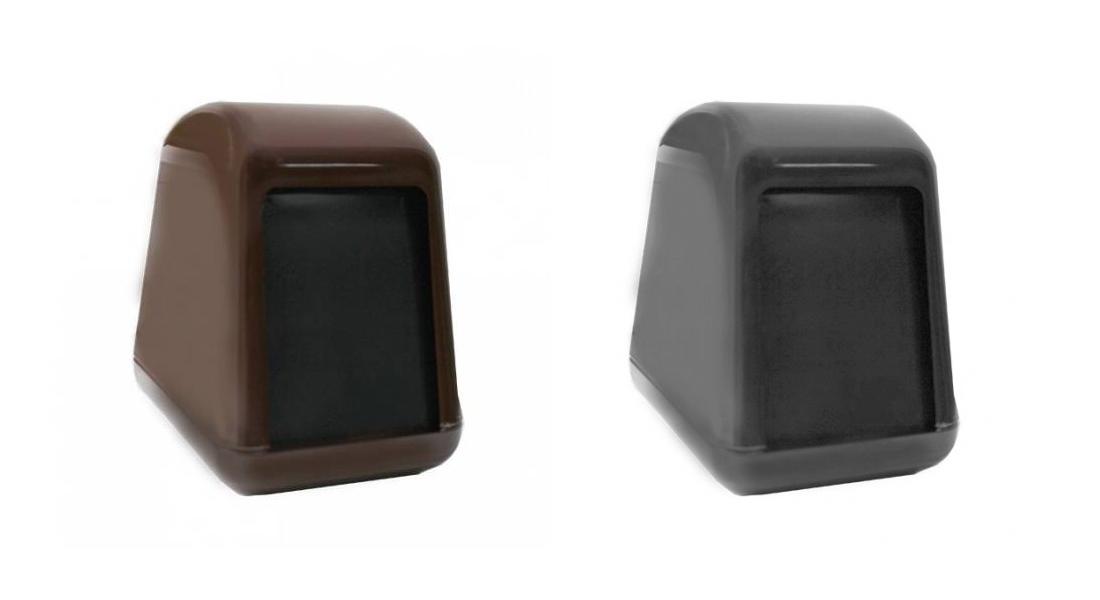 Диспенсер для салфеток столових ACQUALBA 14,5х10,5х14см, красн. Mar Plast - фото 2
