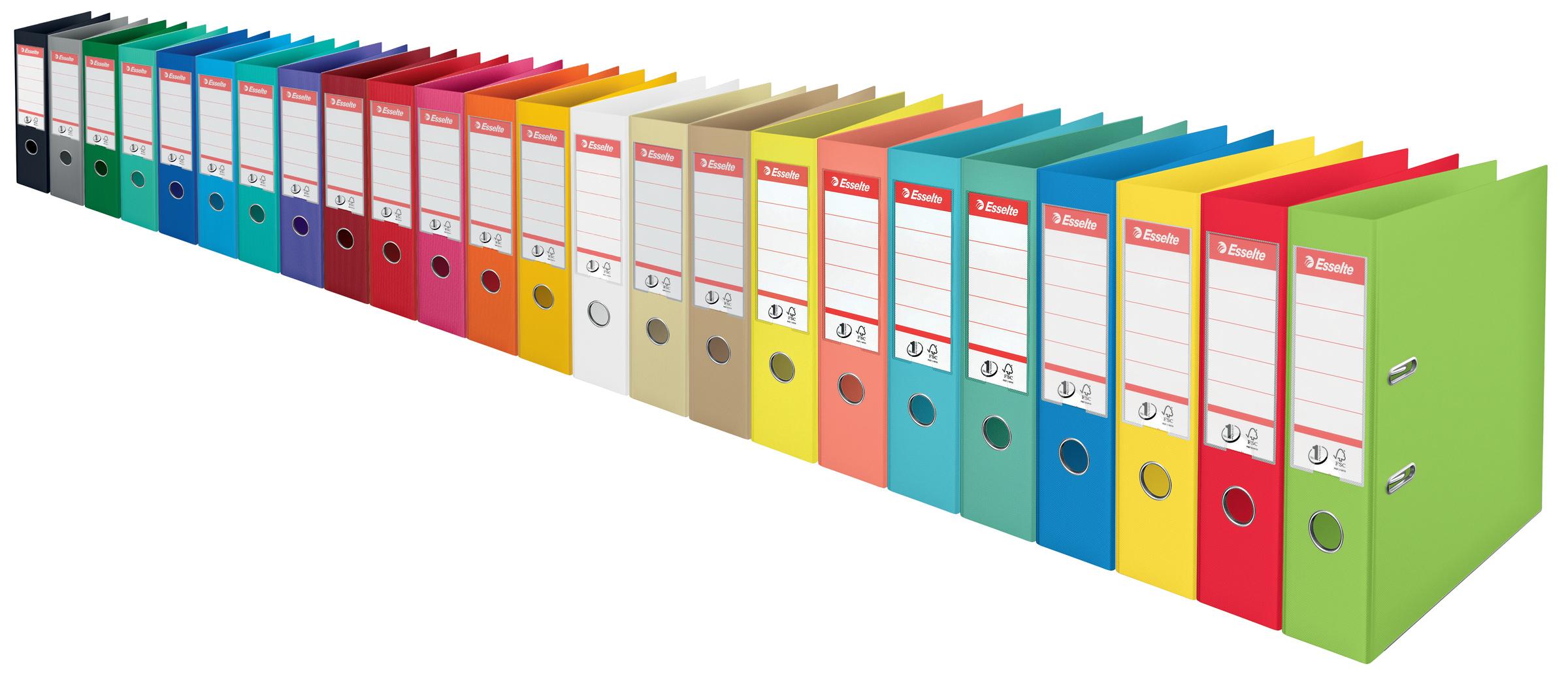 Регистратор гоизонтальный (банковский формат) А4 7,5см. (PP) No.1 Power, зелен. Esselte - фото 3