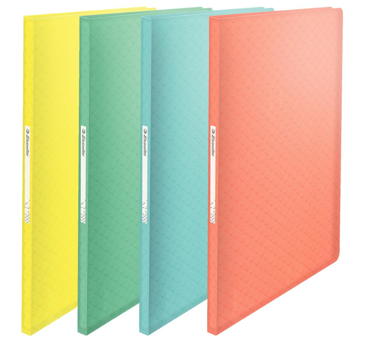 Папка на 40 файлов Colour'ice, голуб. Esselte - фото 3