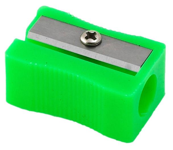 Точилка пластиковая прямоугольная, ассорт. BuroMax - фото 3