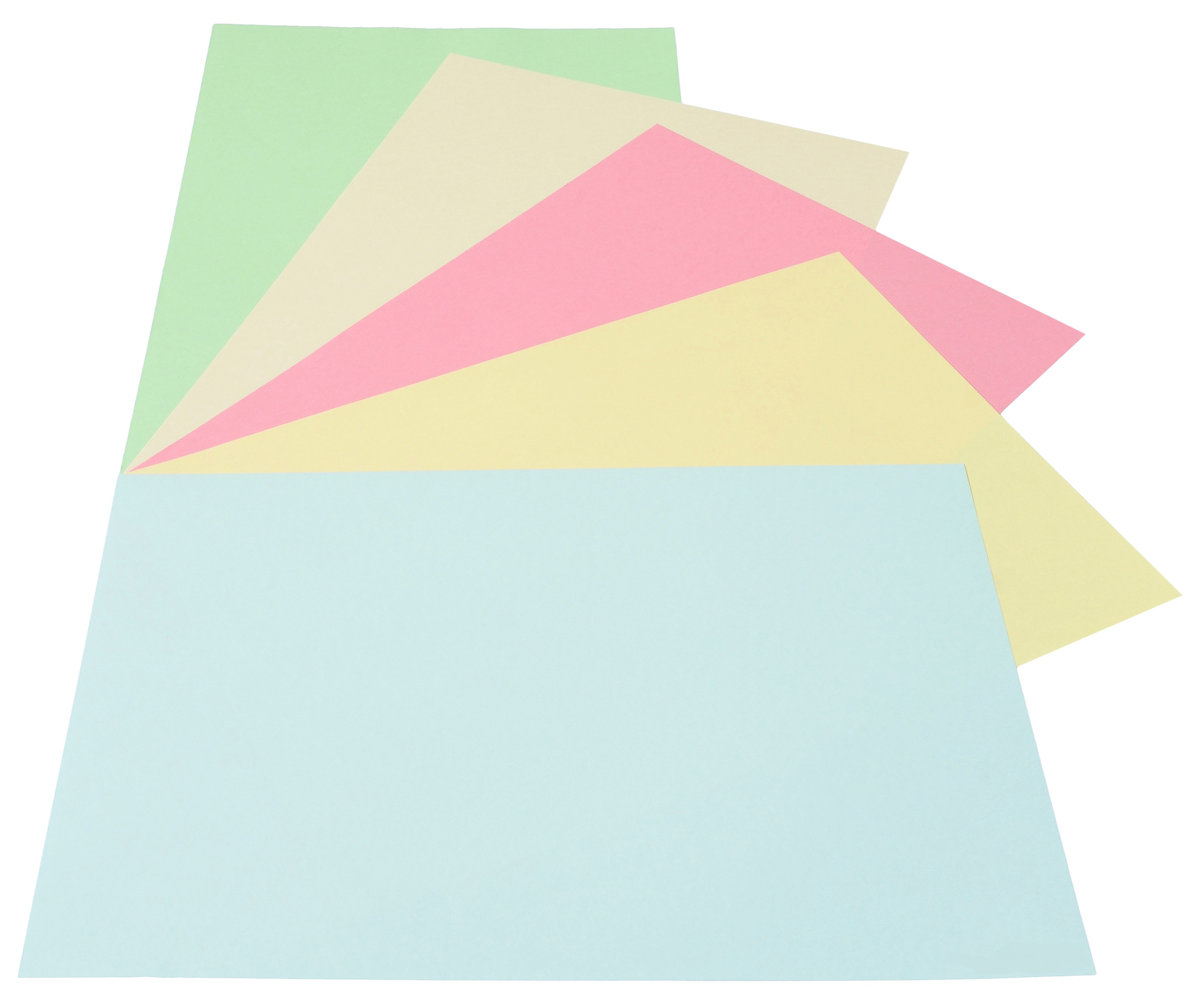 Набор бумаги цветной RB01, A4 80г/м2., 250листов (5 цветов по 50 листов), пастель Mondi - фото 2