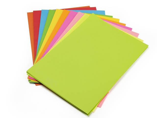 Бумага цветная Color A4 интенсив 160гр./м2. Red, 250листов, красн. Spectra Color - фото 2