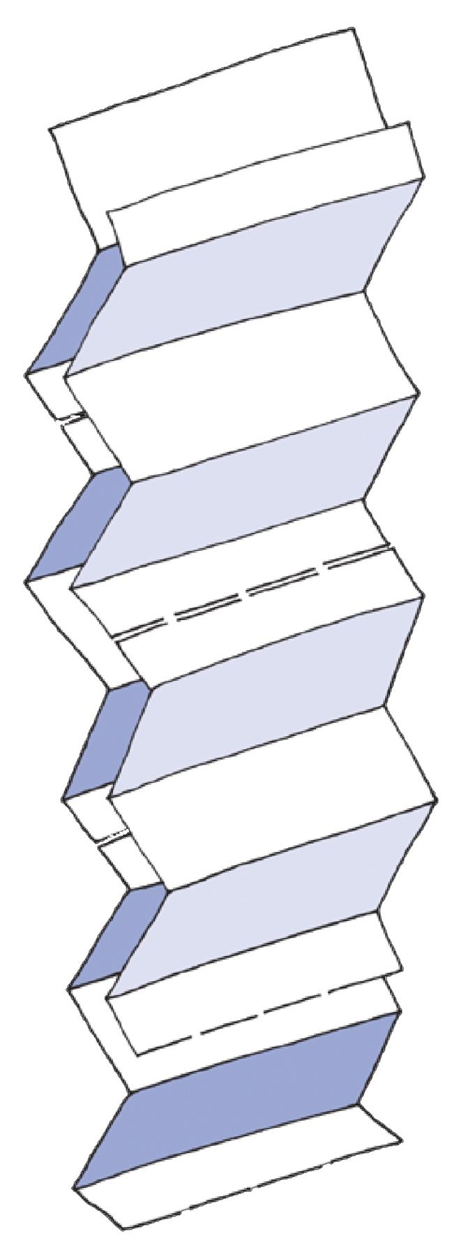 Полотенца листовые W (interfold)-складка 2-сл., целлюлоза, 144 лист.(23,5*25,5см.), бел. Katrin - фото 3
