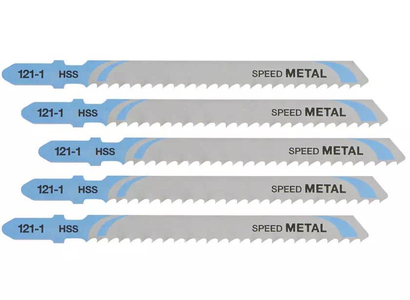 Полотно по металлу DT2163, 5ед, об/дл 100мм, роб/дл 72мм, растояние между зубьями 3мм DeWALT - фото 2
