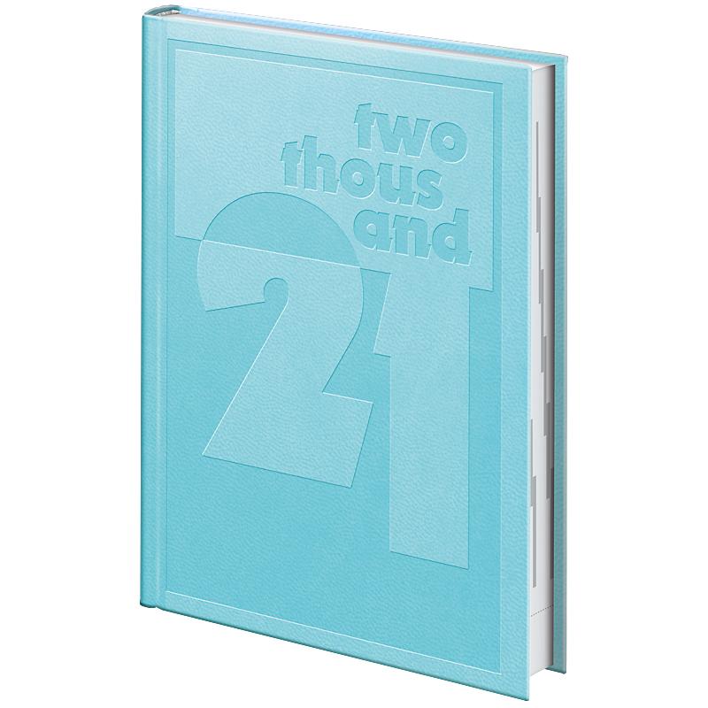 Ежедневник датированный Стандарт 2021 Torino Trend, голуб. Brunnen - фото 2
