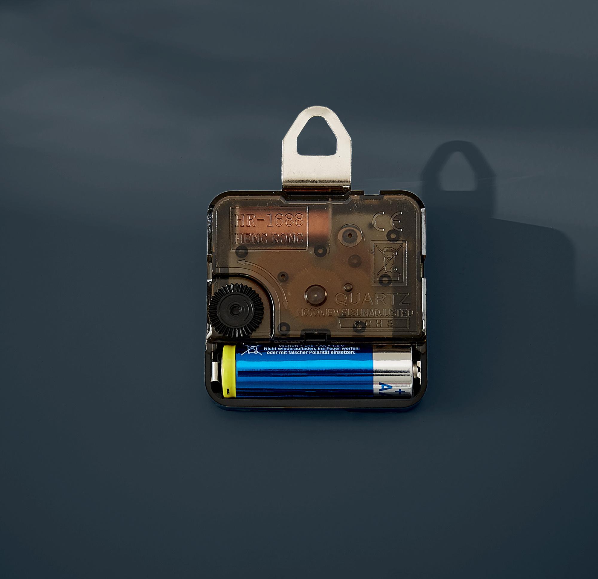 Часы настенные Cosy, квадратные, стекло, серый LEITZ - фото 2